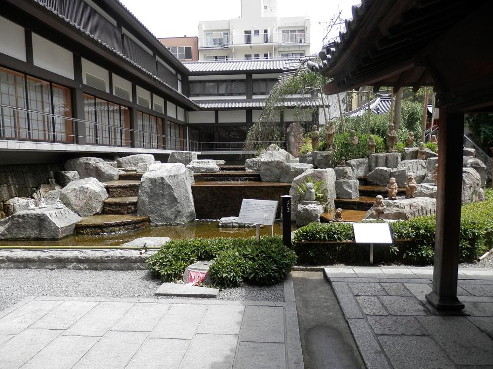京都 六角堂 十六羅漢像