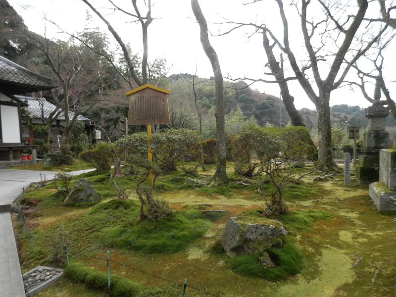 清閑寺の苔の庭