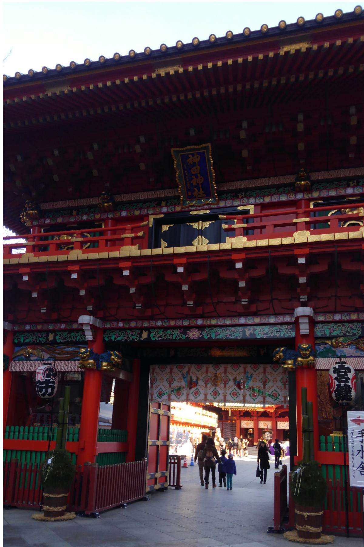 神田神社の入り口