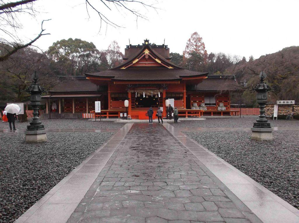 富士山本宮浅間大社の拝殿