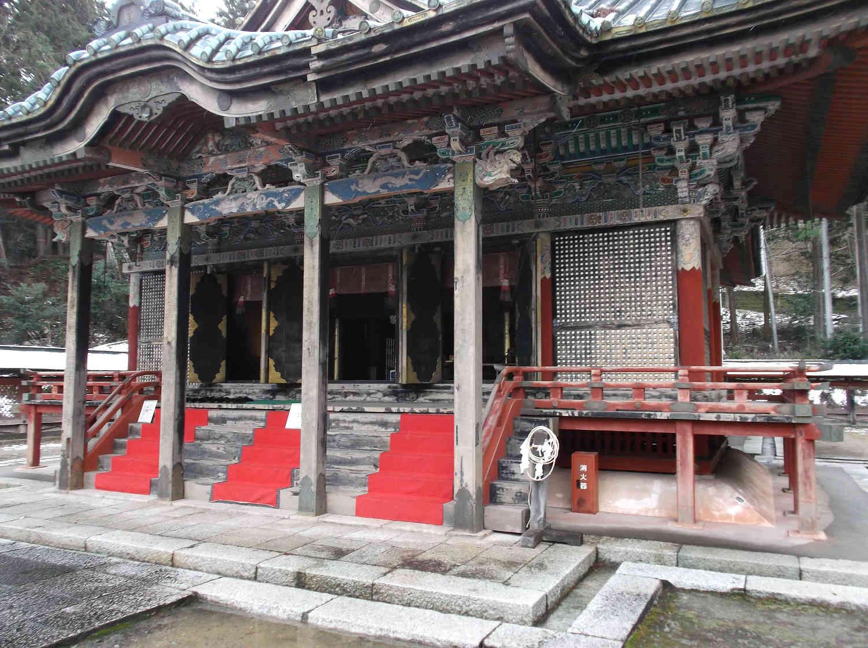 日吉東照宮の本殿