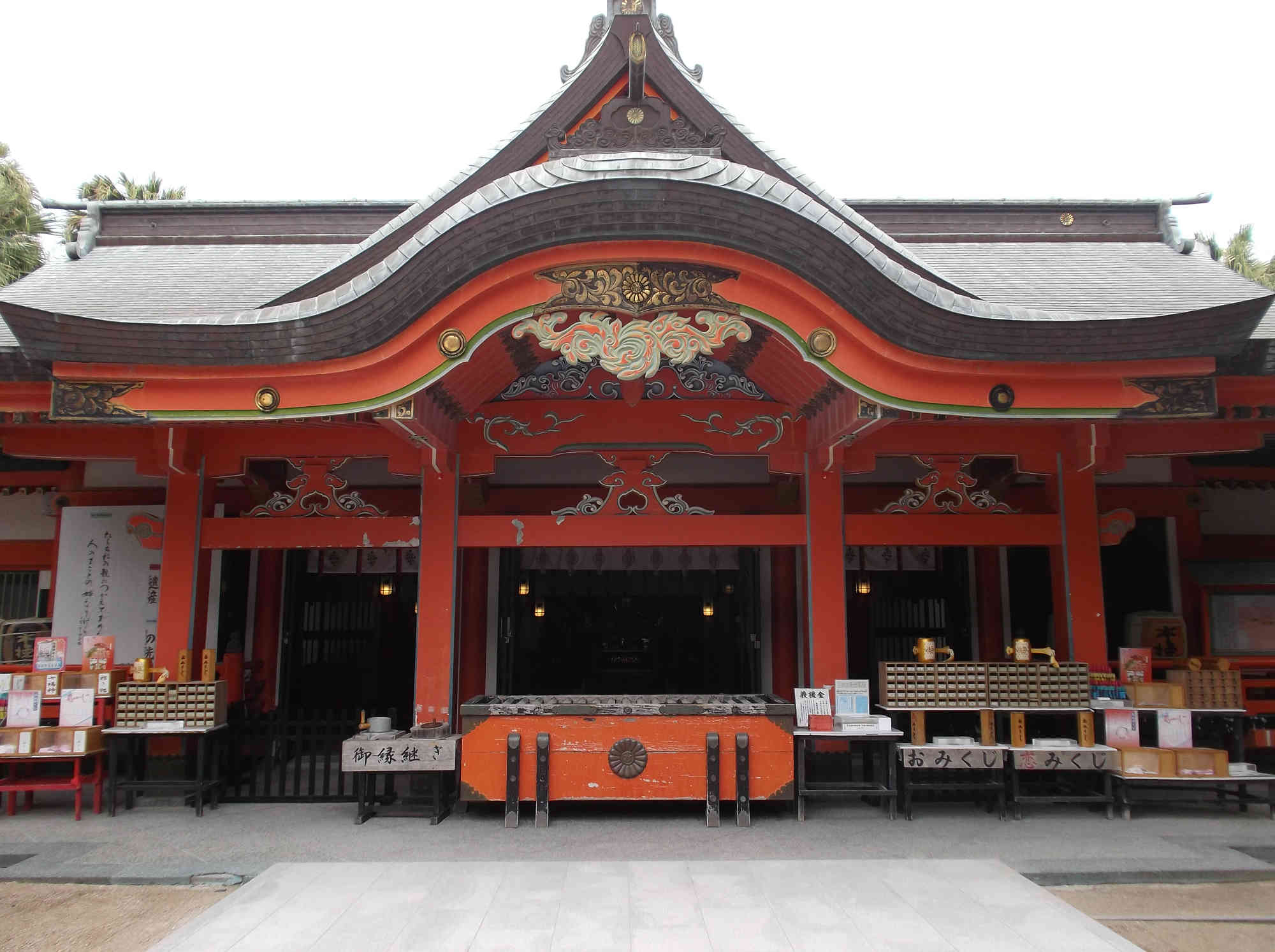 青島神社の御本殿