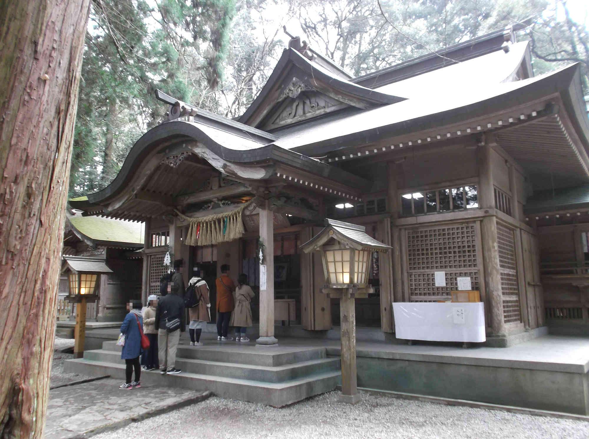 高千穂神社 拝殿(本殿)