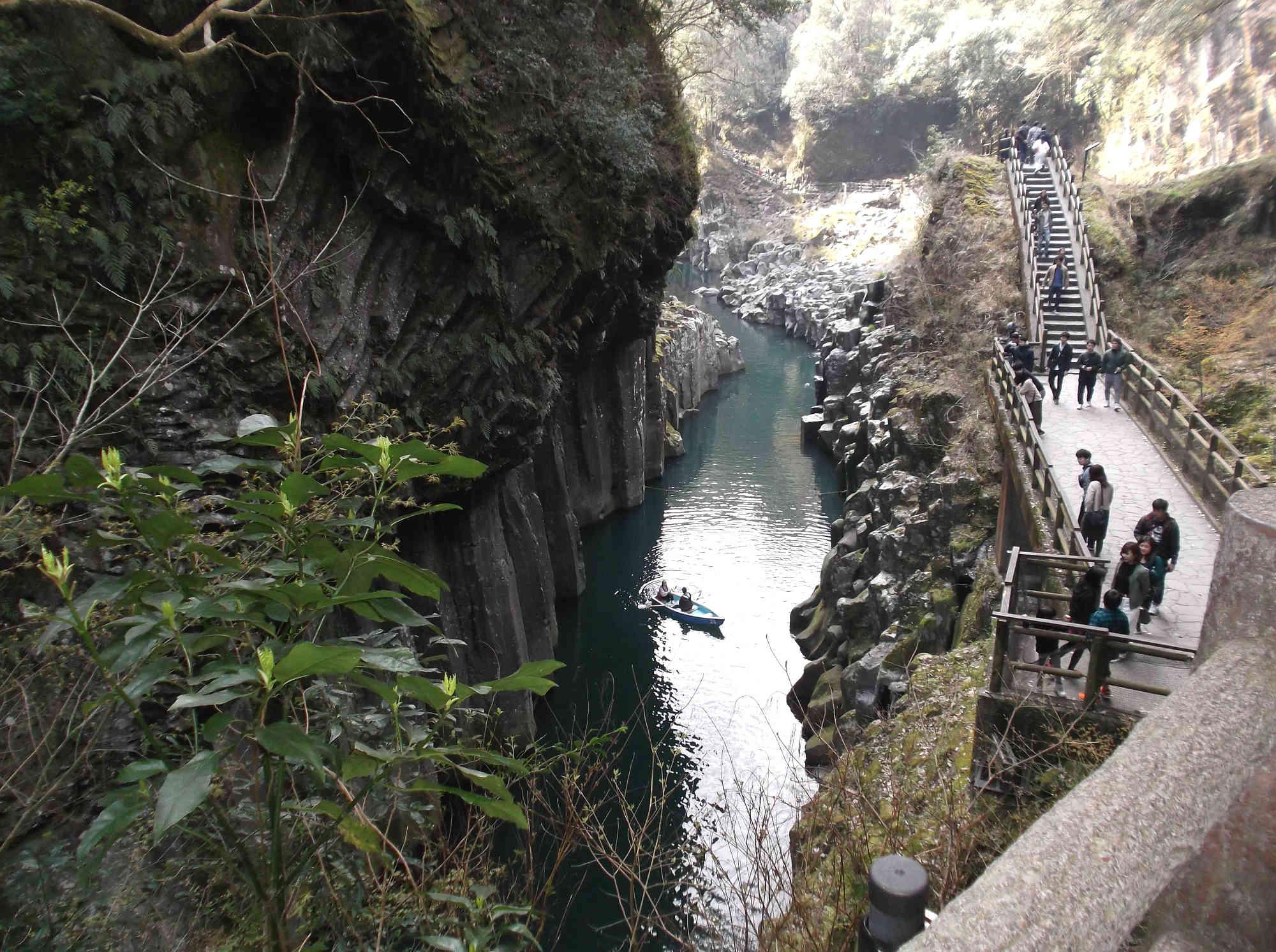 高千穂峡 渓谷