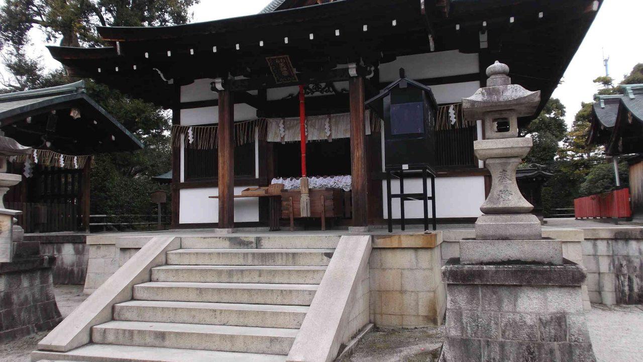 わら天神(敷地神社)