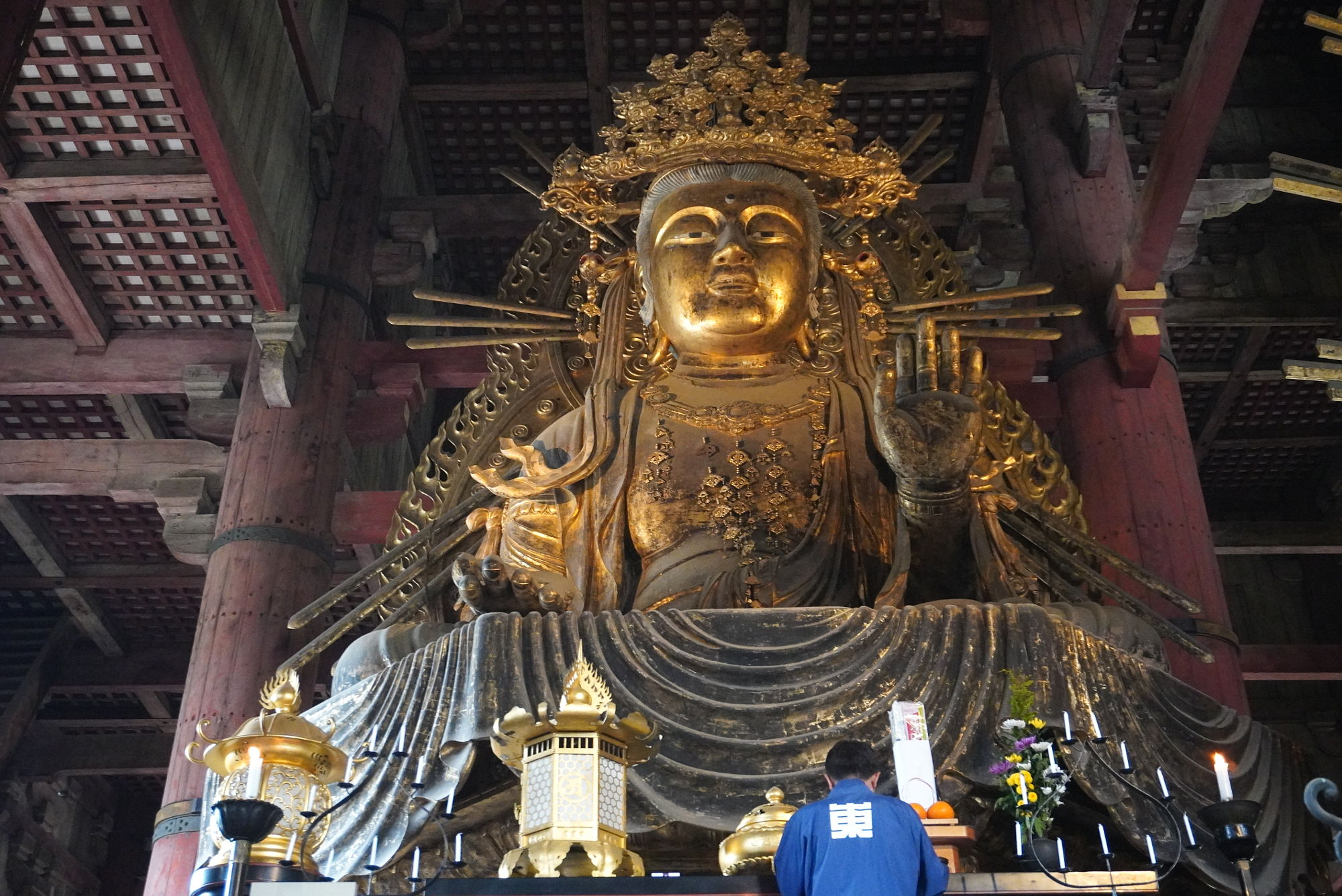東大寺「虚空蔵菩薩坐像」