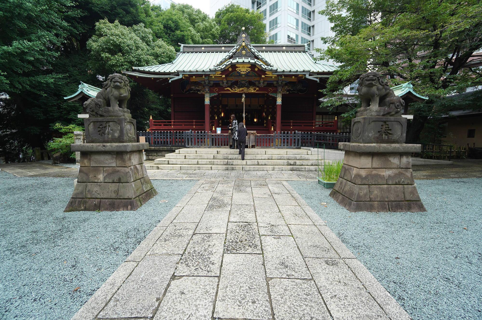 金王八幡宮の社殿(本殿)