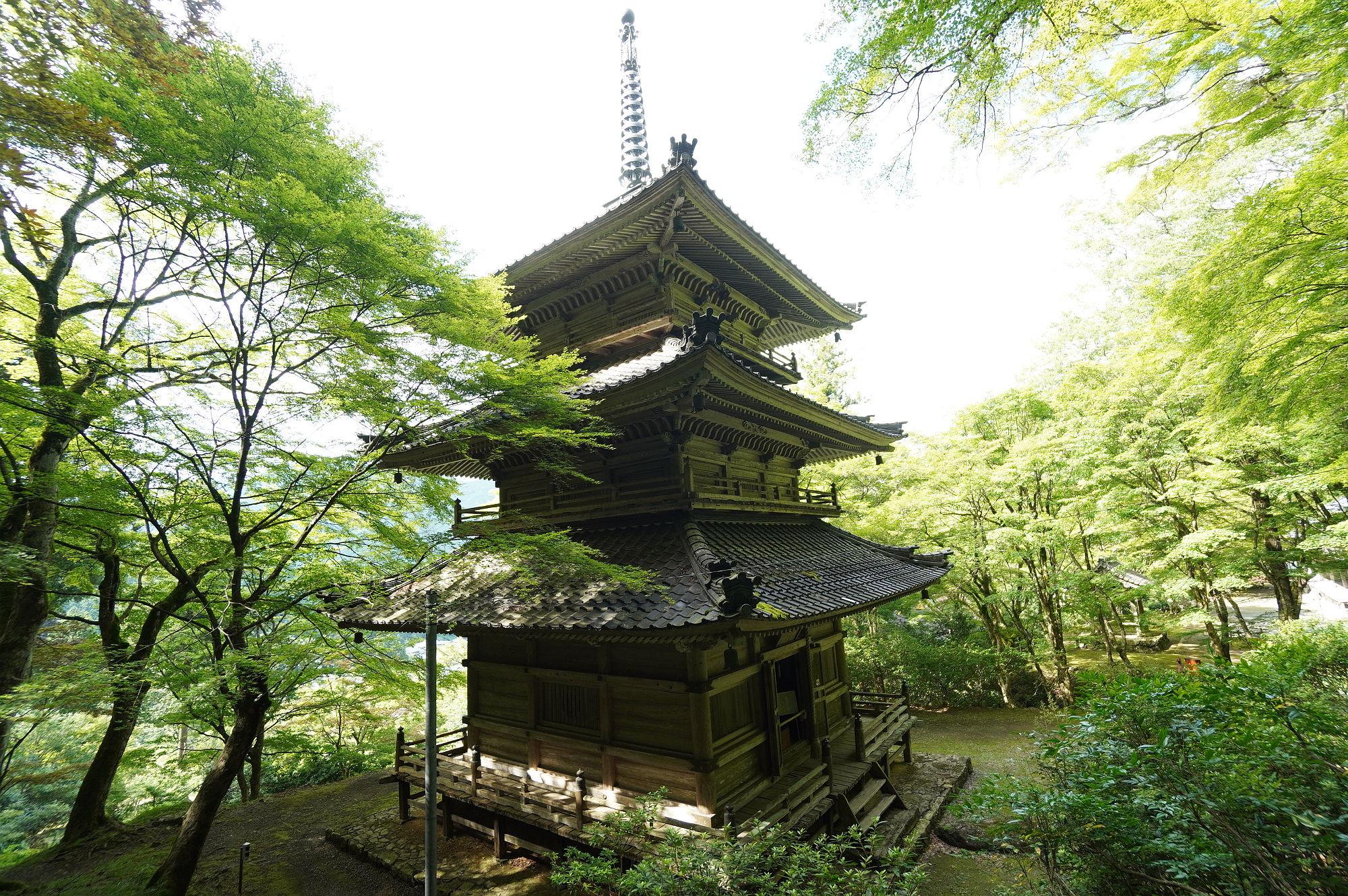 高源寺「三重塔」