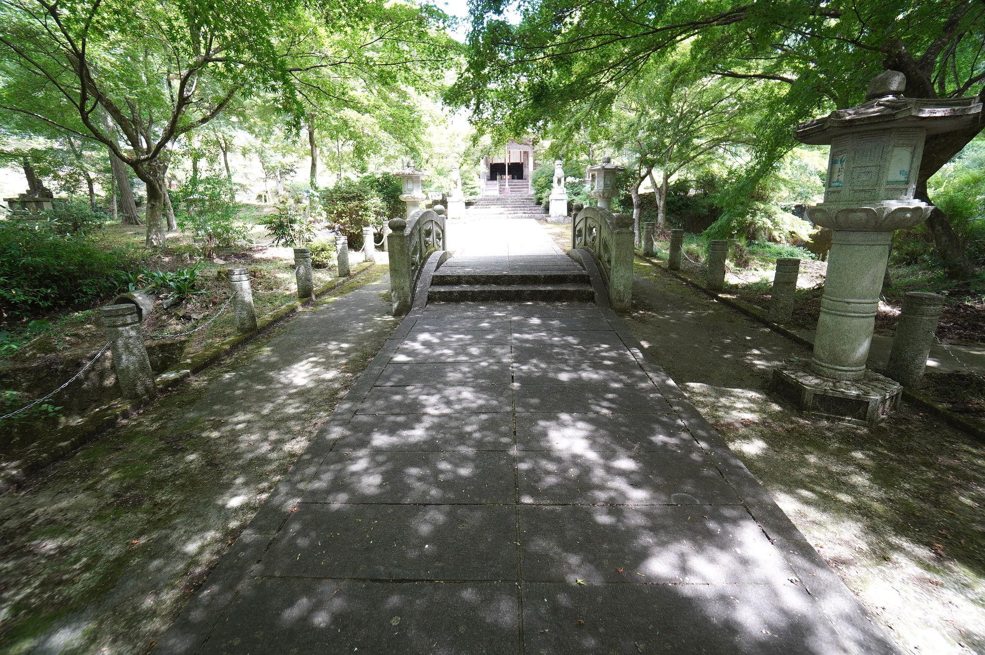高山寺 参道の橋