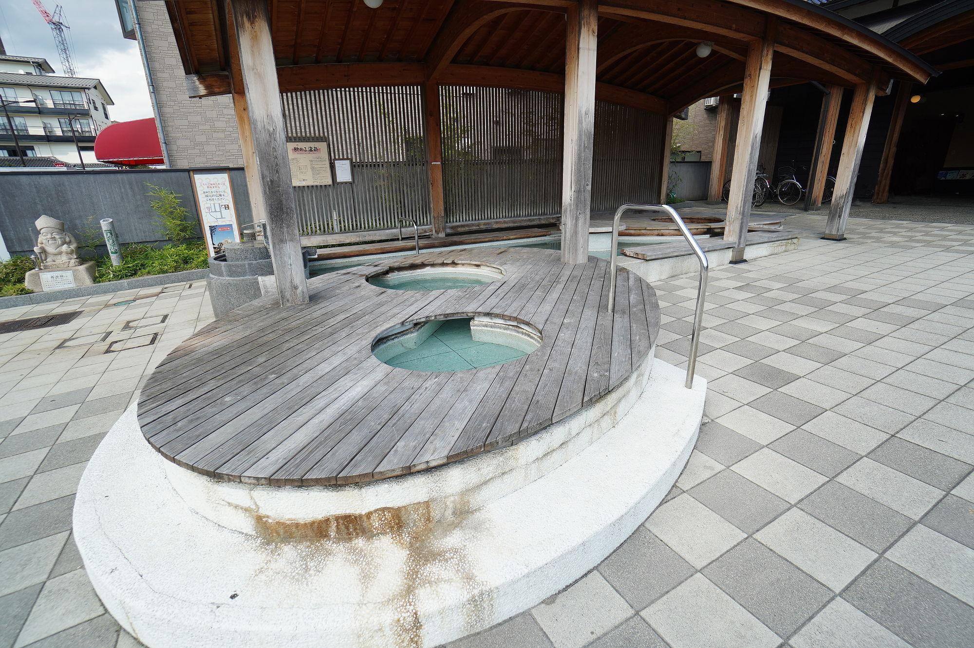 和倉温泉 総湯の足湯