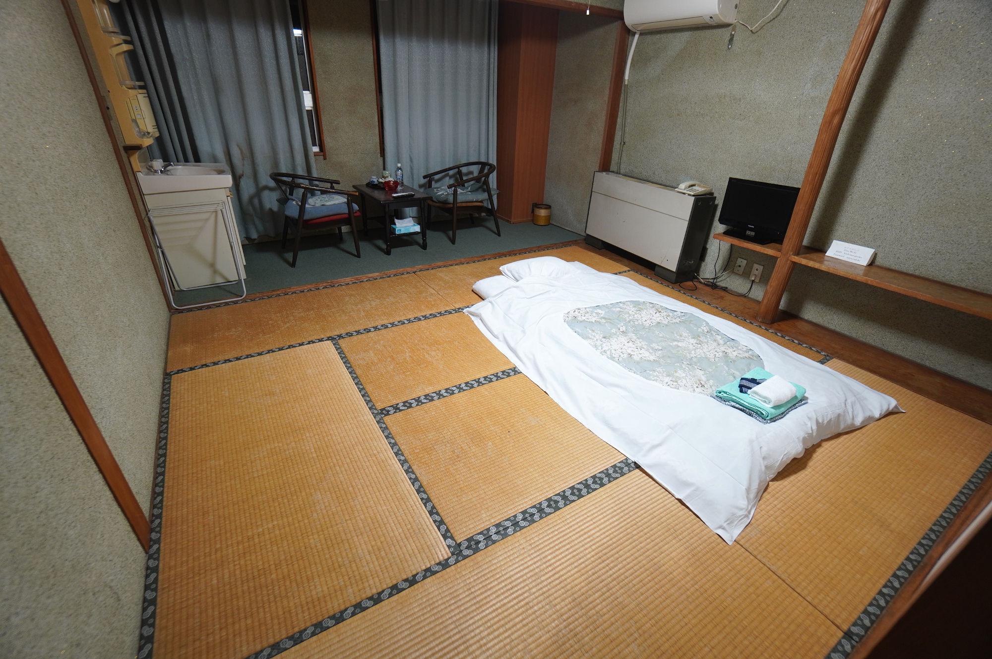 ホテル「がんけ」の部屋