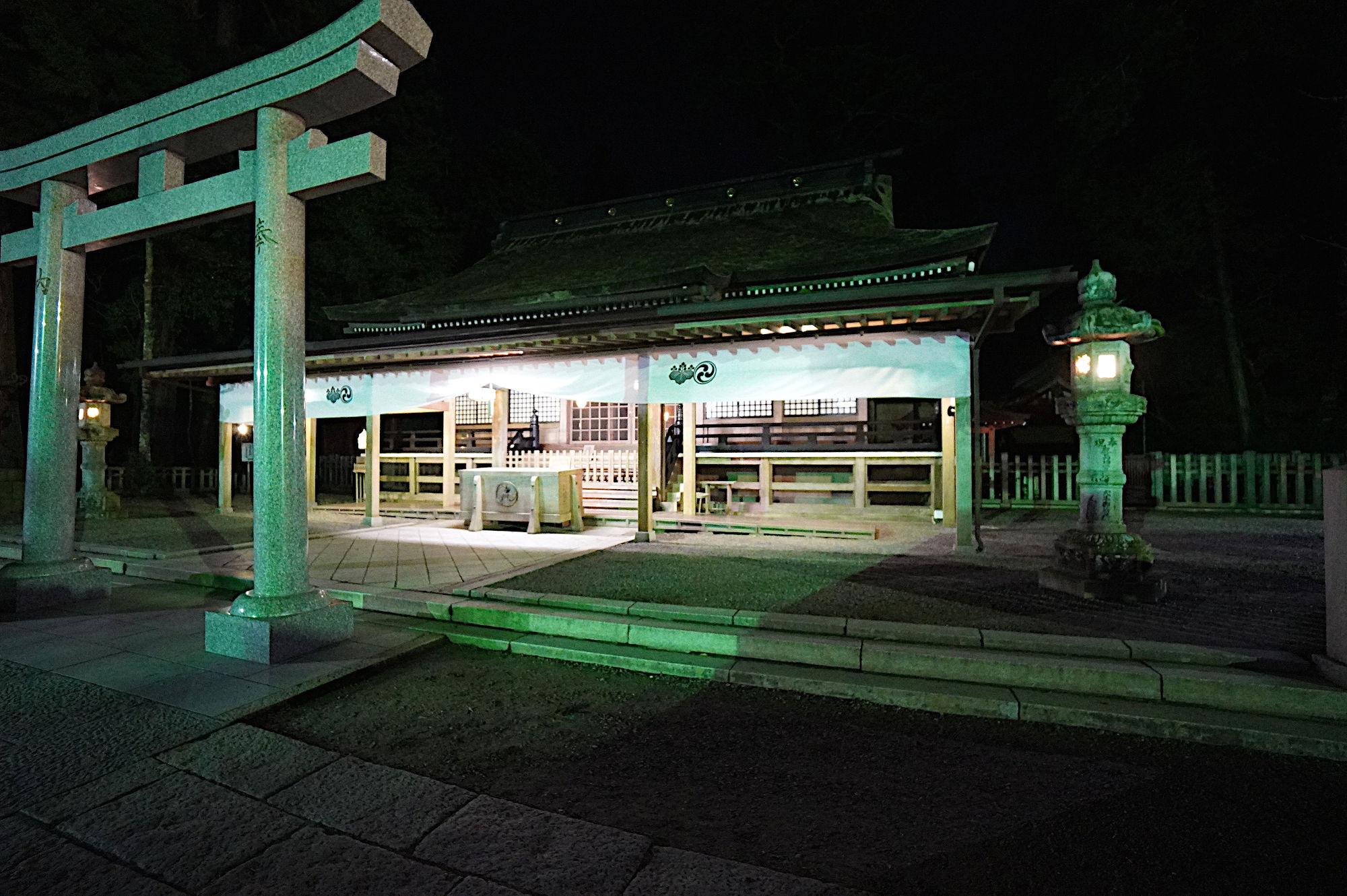 夜の鹿島神宮