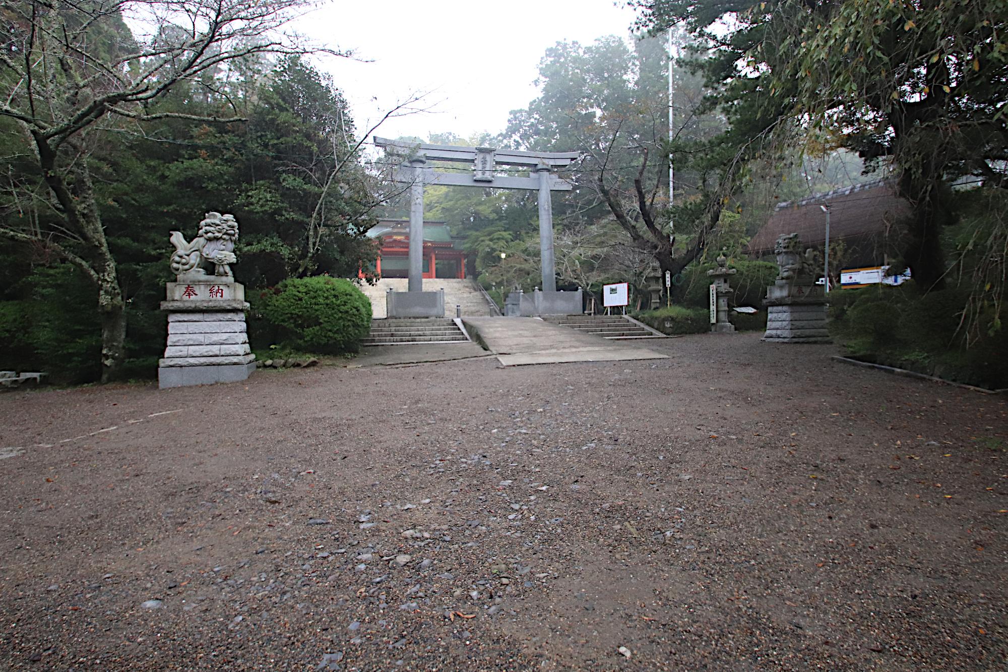 香取神宮 3つ目の鳥居