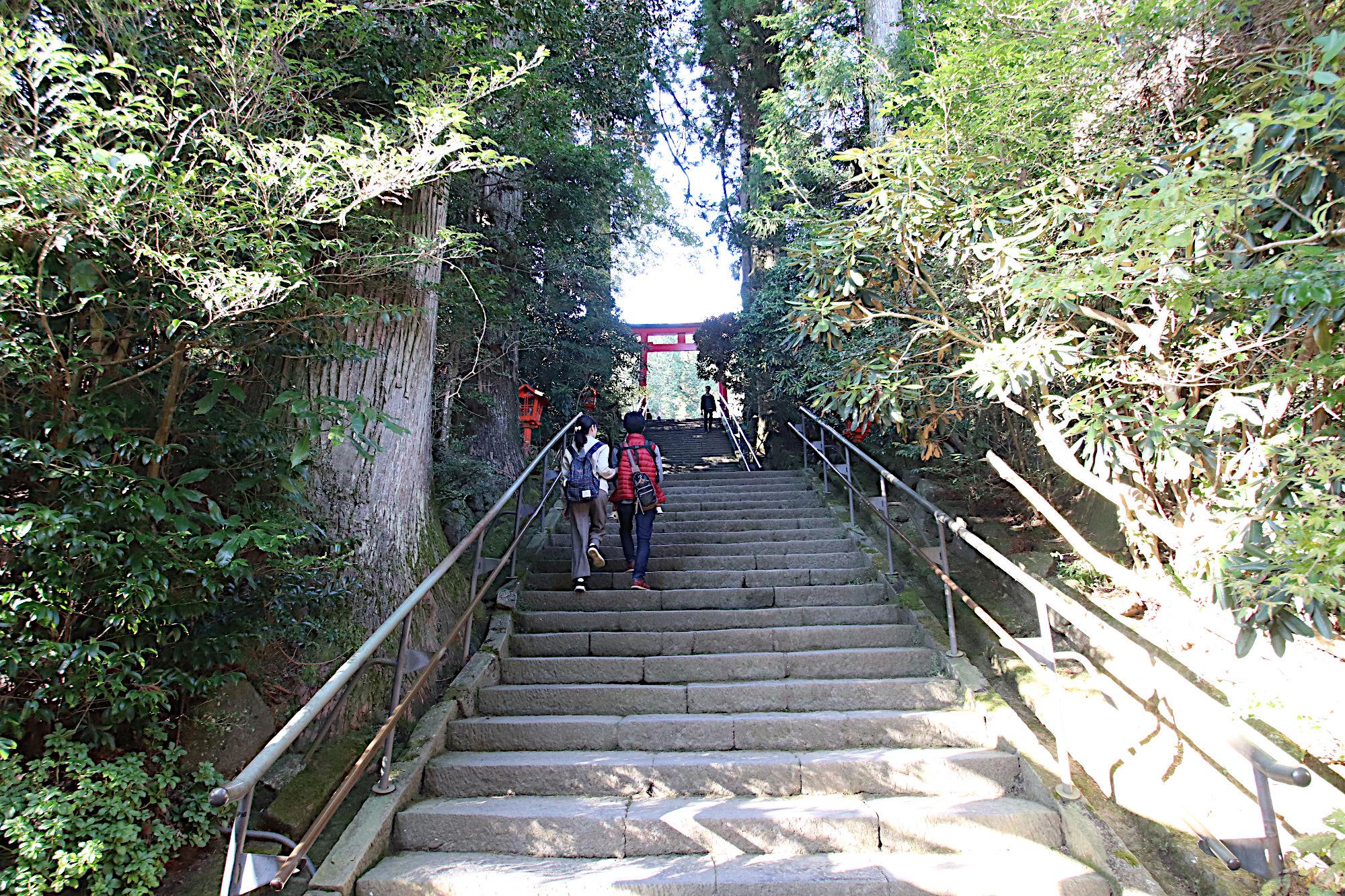 箱根神社の第五鳥居