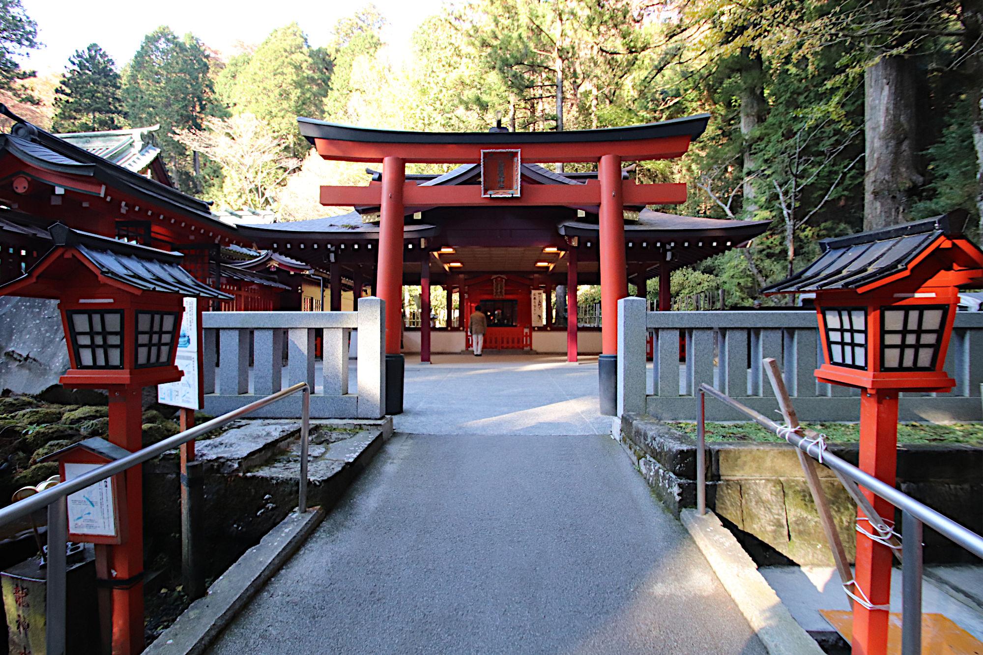 九頭龍神社の鳥居