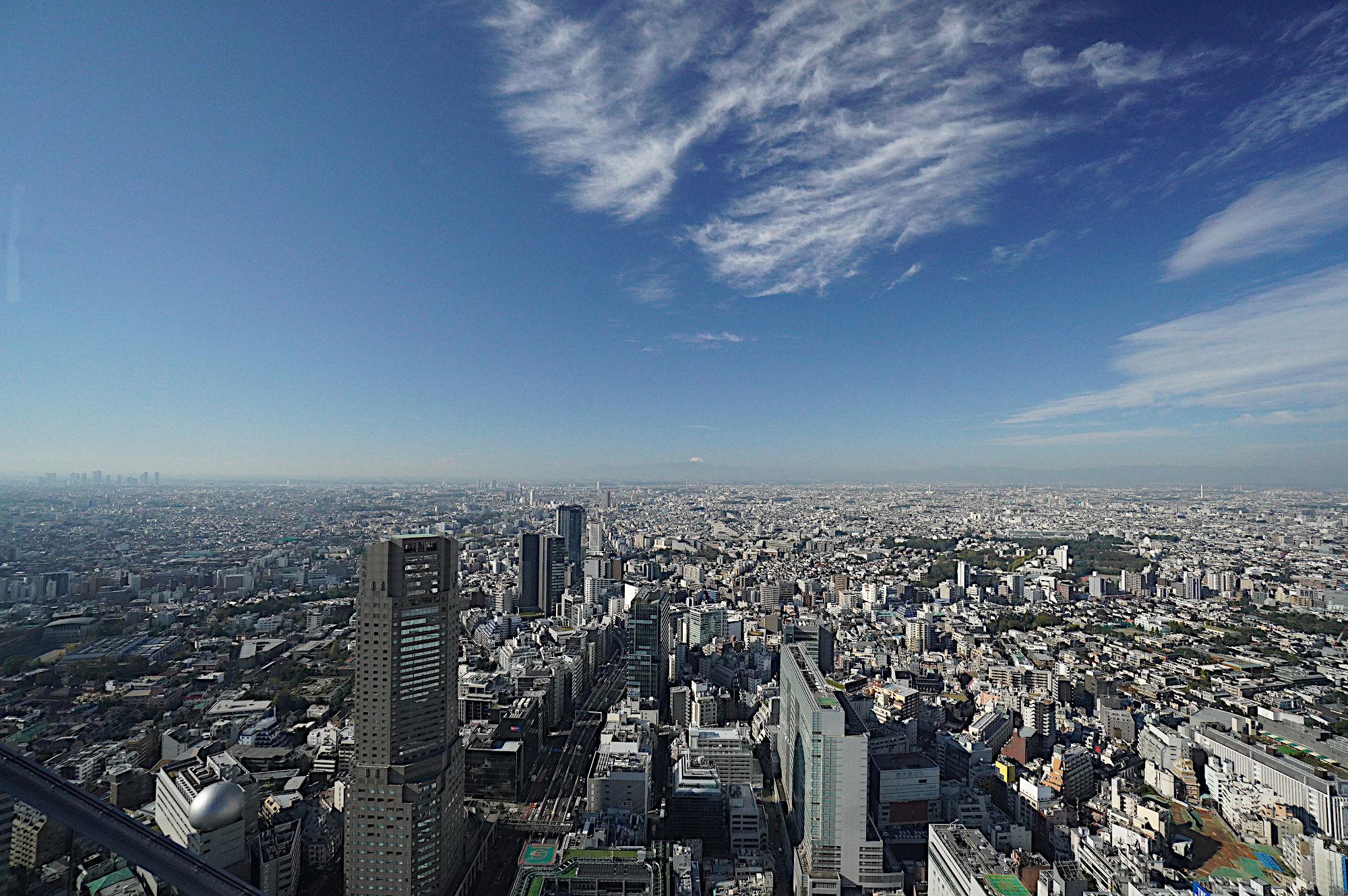 渋谷スカイからの景色