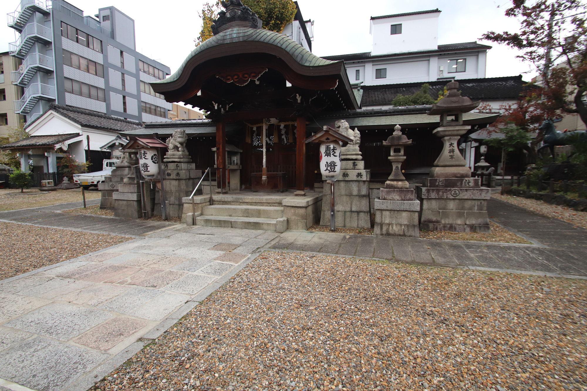 大将軍神社の拝殿