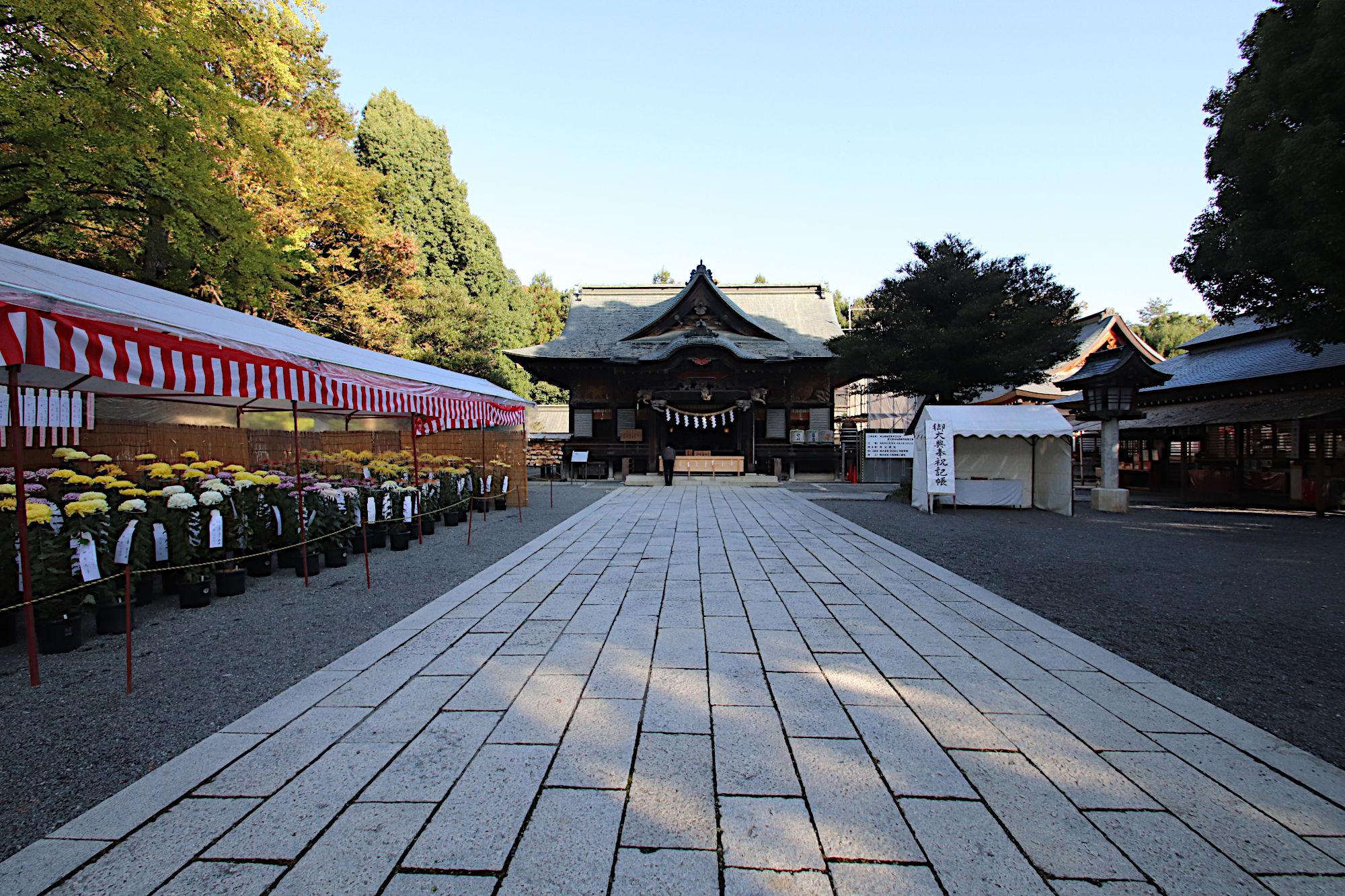 秩父神社の拝殿