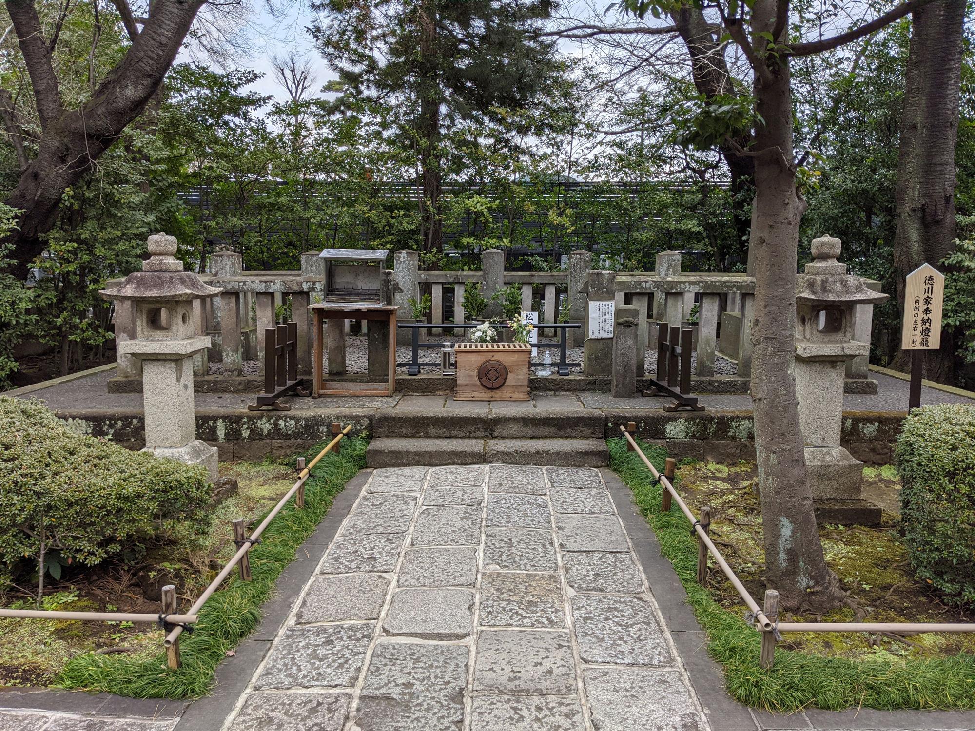 松陰神社 松陰先生のお墓