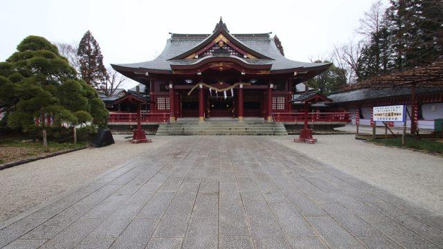 笠間稲荷神社の拝殿