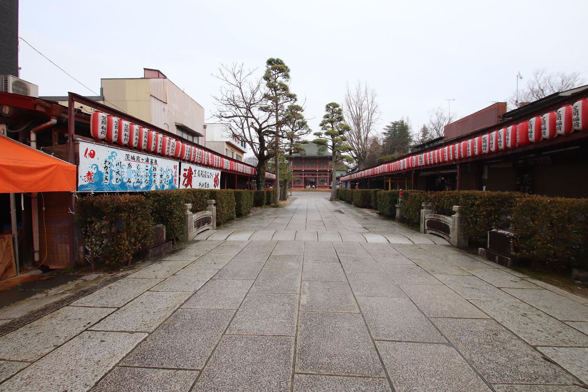 笠間稲荷神社の参道