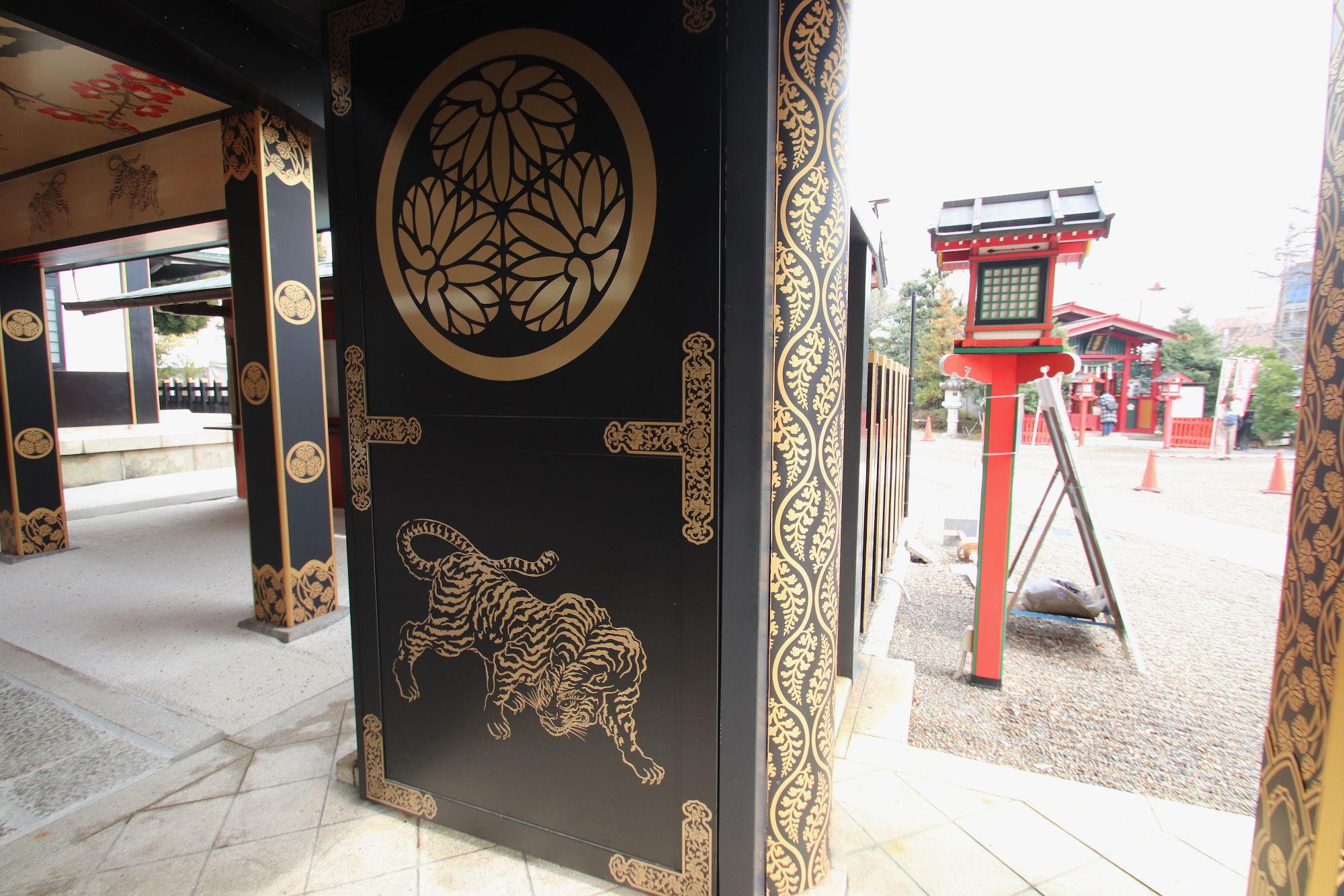 水戸東照宮の門