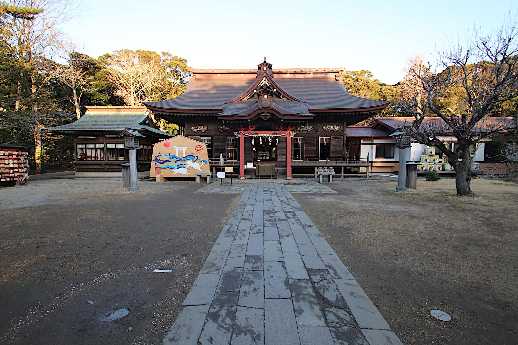 大洗磯前神社の拝殿(本殿)