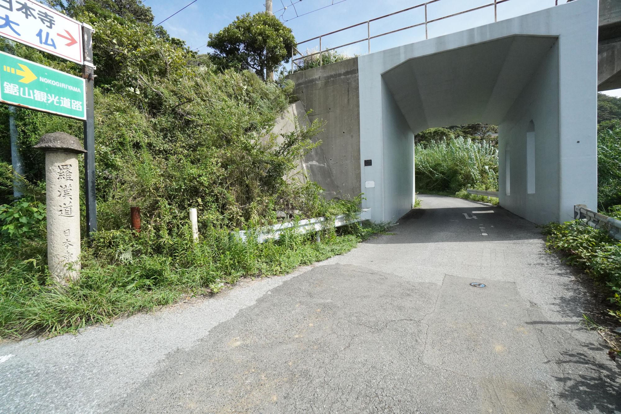 鋸山「羅漢道コース」
