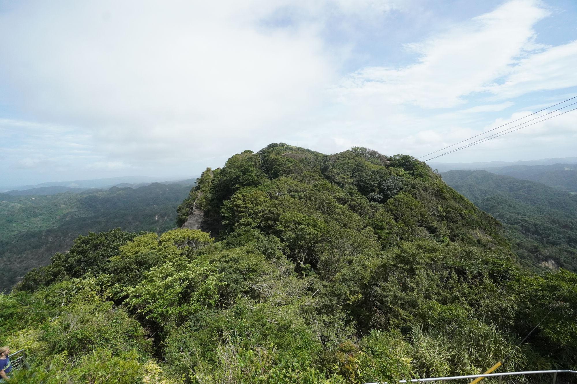 鋸山山頂からの景色