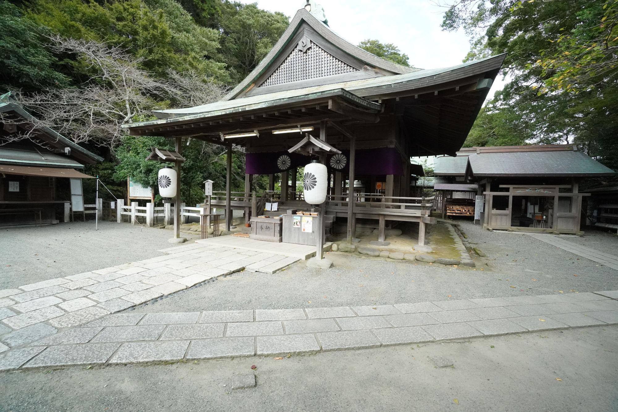 鎌倉宮の拝殿